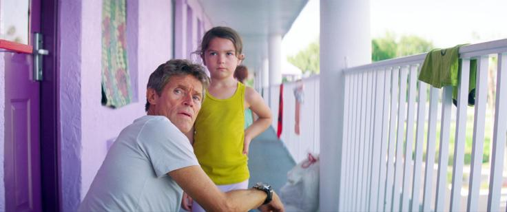 "Willem Dafoe and Brooklynn Prince in 'The Florida Project"" from EPK.tv"